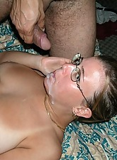She just likes to taste the sperm