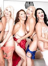 Slay rub elbows with first-ever six-way granny orgy